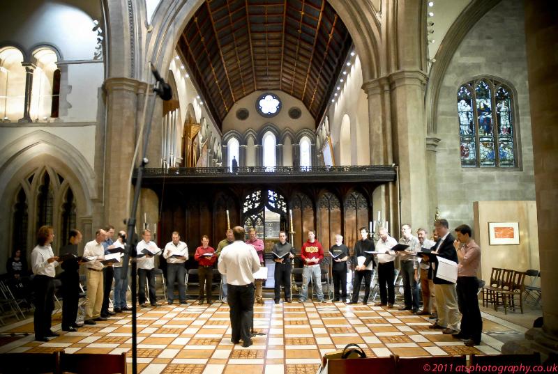 Palestrina rehearsal